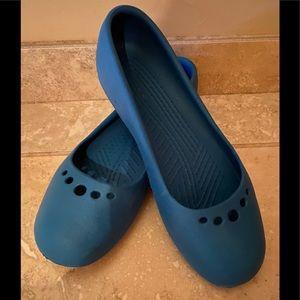 MaryJane crocs size 7